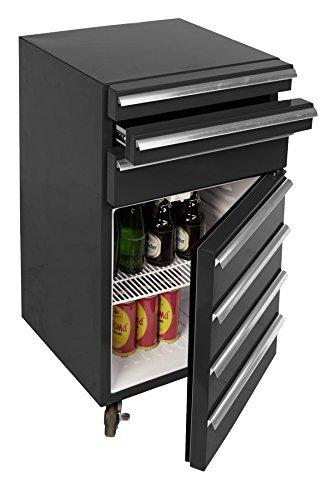 Werkstatt Kühlschrank rollbar